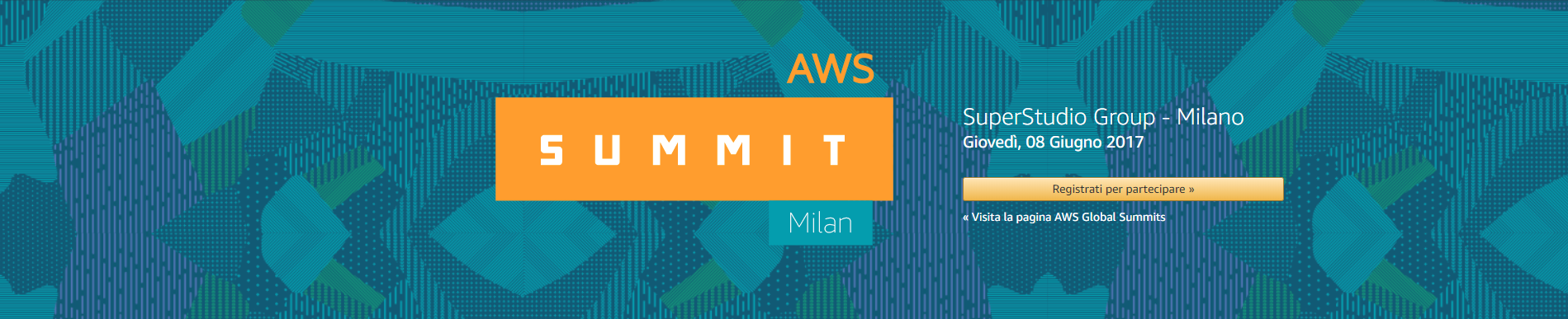 Amazon AWS Summit 2017