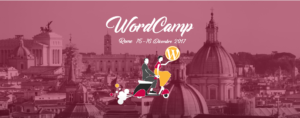 Wordpress - WordCamp Roma 2017