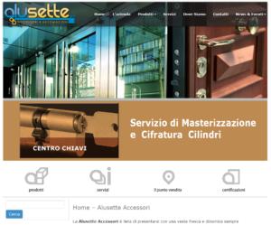 Alusette Accessori home page
