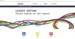 Home page sito Leadersistemi