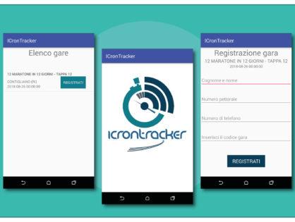 Lavori - Realizzata App IcronTracker per Smartphone Android