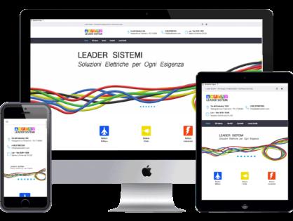 Lavori - Realizzato Sito Web Leadersistemi