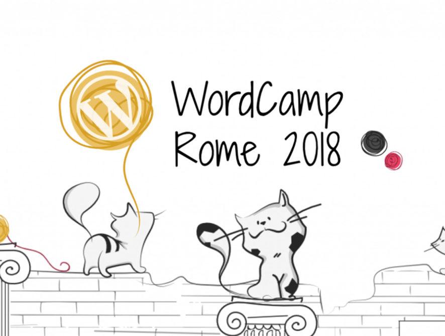 Wordpress - WordCamp Roma 2018